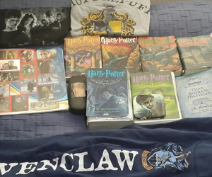 books, harrypotter, and ravenclaw image
