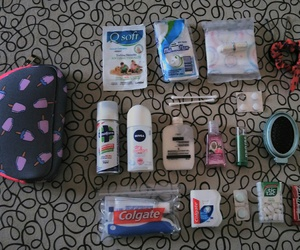 school, emergency kit, and necesser image
