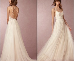 bridal, luxury, and dress image