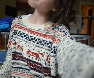 sweater, tumblr, and christmas image