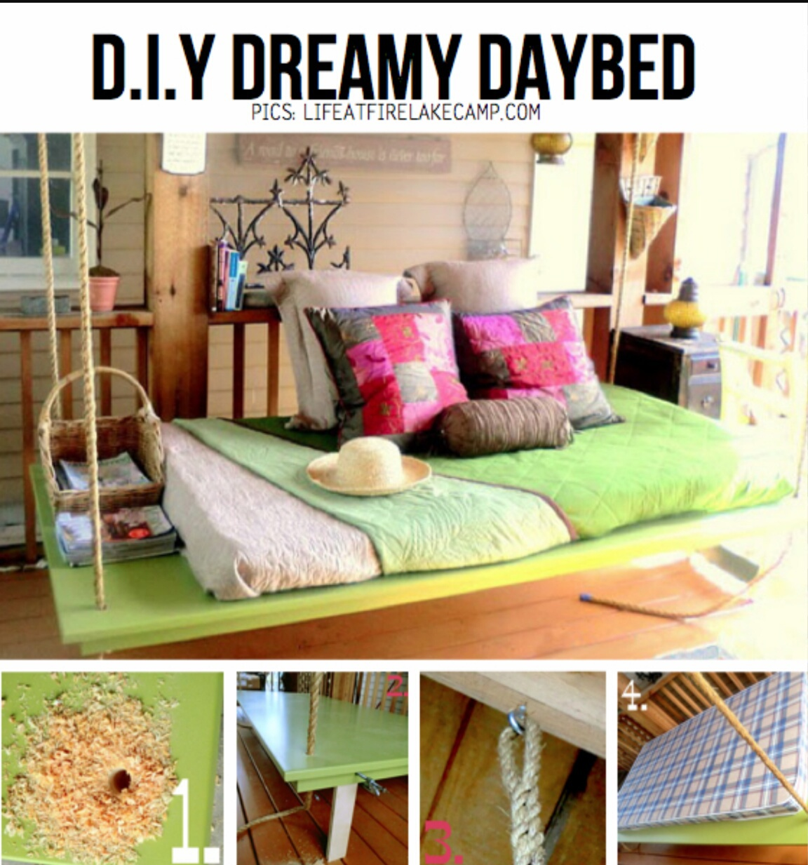 diy, bed, and Dream image