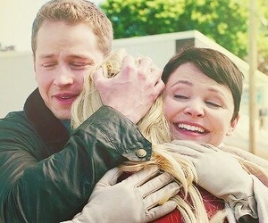 once upon a time, charming, and emma image