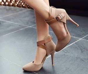 brown, chic, and style image