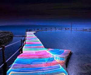 beautiful, sea, and colorful image