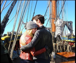 beautiful, captain, and couple image