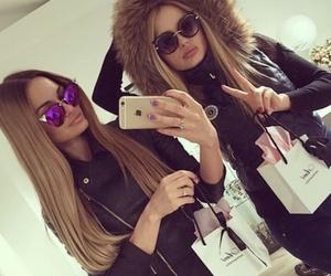 girl, sunglasses, and luxury image