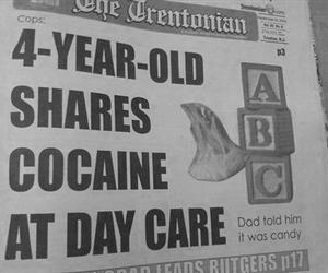 cocaine, kids, and funny image