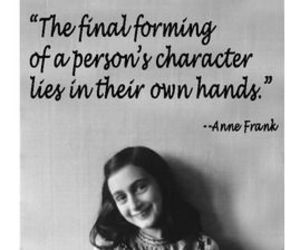 anne frank, quotes, and holocaust memorial day image