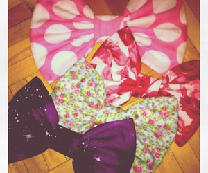 bows, fashion, and floral image