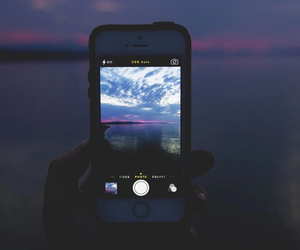 iphone, photography, and sky image
