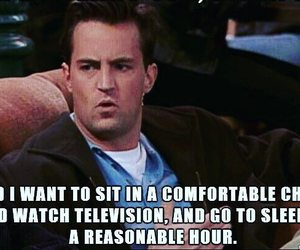 chandler bing, television, and funny image
