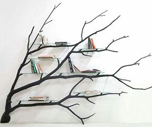 book, tree, and diy image