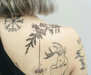 tattoo, skin, and tatto image