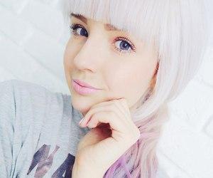 blonde, elmo, and hair image