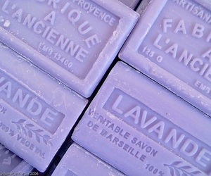 purple, soap, and lavender image