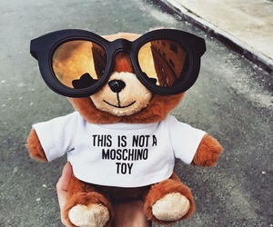 bear, Moschino, and little image