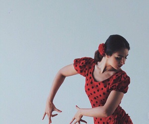 dance and red image