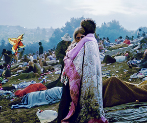 woodstock, hippie, and couple image