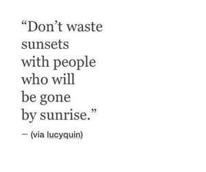 quotes, sunrise, and sunset image