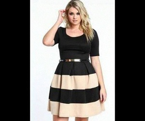 moda, gril curvy moda outfits, and girl+curvy image