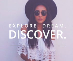 discover, Dream, and quote image