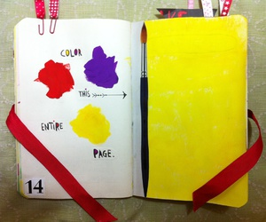 color, paint, and wreck this journal image