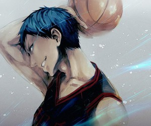 kuroko no basket, anime, and aomine image