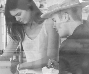 candids, justin bieber, and kendall jenner image