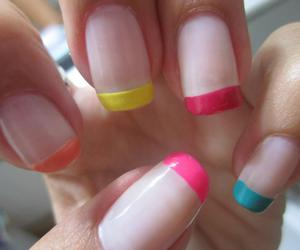 nails, colores, and colours image