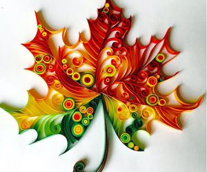 pandahall.com and quilling leaf image