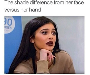 kylie jenner and funny image