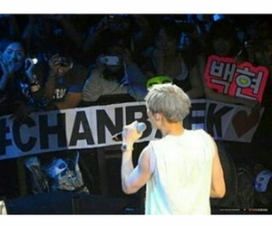 exo, fans, and chanbaek image
