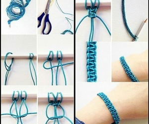 bracelet, chic, and craft image