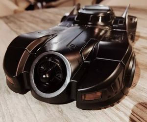 batman, Batmobile, and iphone image