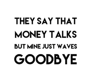 quote, money, and funny image