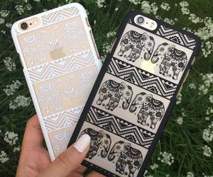 case, iphone, and black image