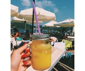 blue, drinks, and lemonade image