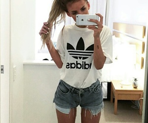 adidas, outfit, and girl image