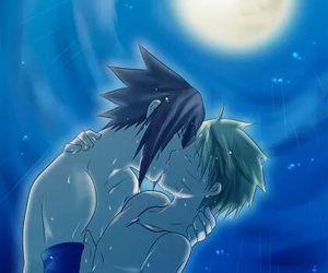 kiss, sasunaru, and narusasu image