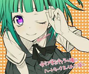 anime girl and assassination classroom image