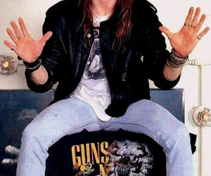 axl rose and guns n' roses image