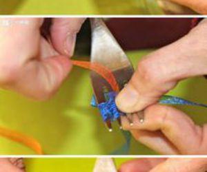 diy, bow, and ribbon image