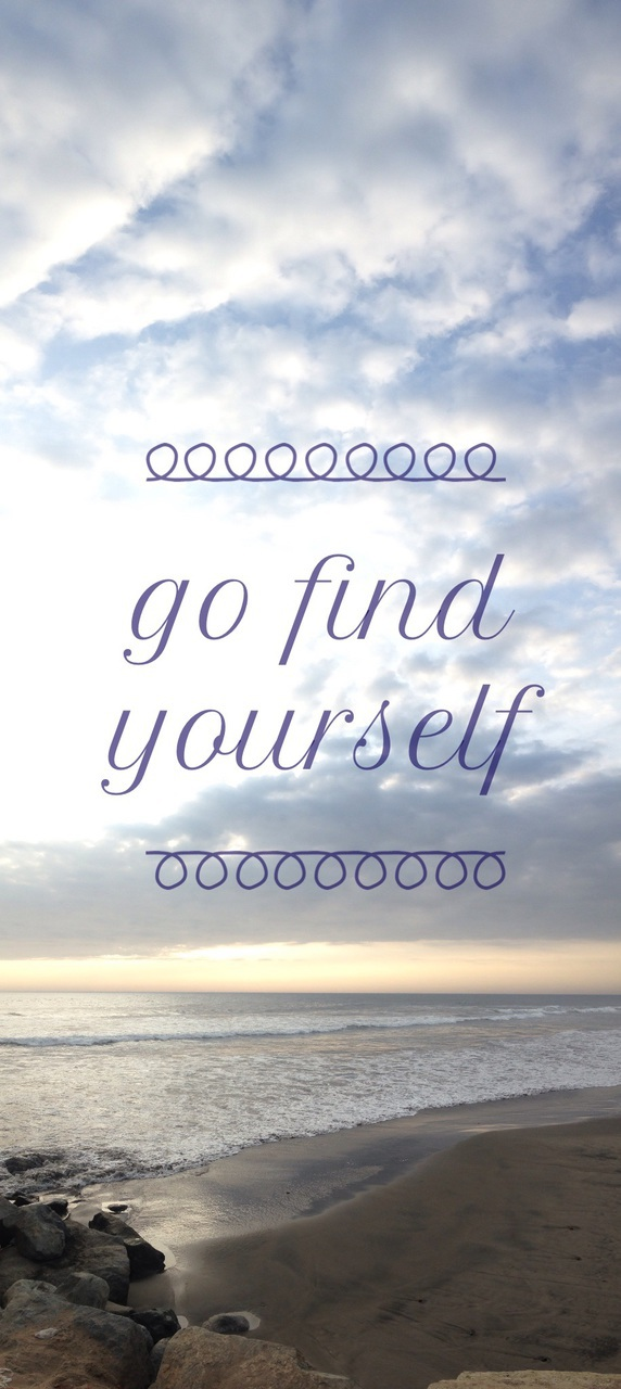 Go find yourself 🐚 discovered by @XimeAlvaradoC