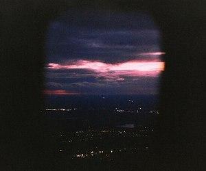 sky, night, and city image