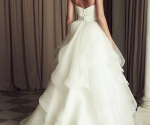 beautiful, dreaming, and wedding image