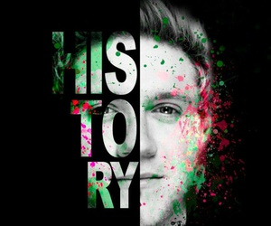 one direction, niall horan, and history image