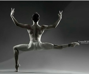 dancer and male image