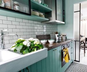 interior, kitchen, and luxury image