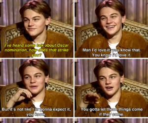 beautiful, leonardo dicaprio, and oscar image