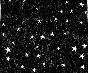 stars, small, and black image